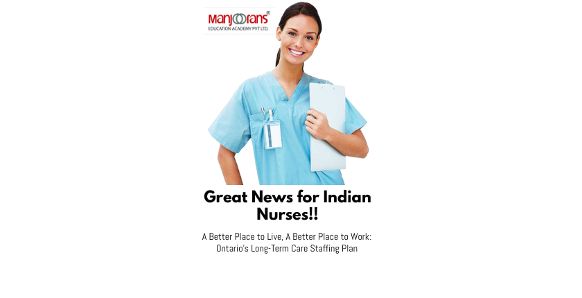 Great News for Indian Nurses!!